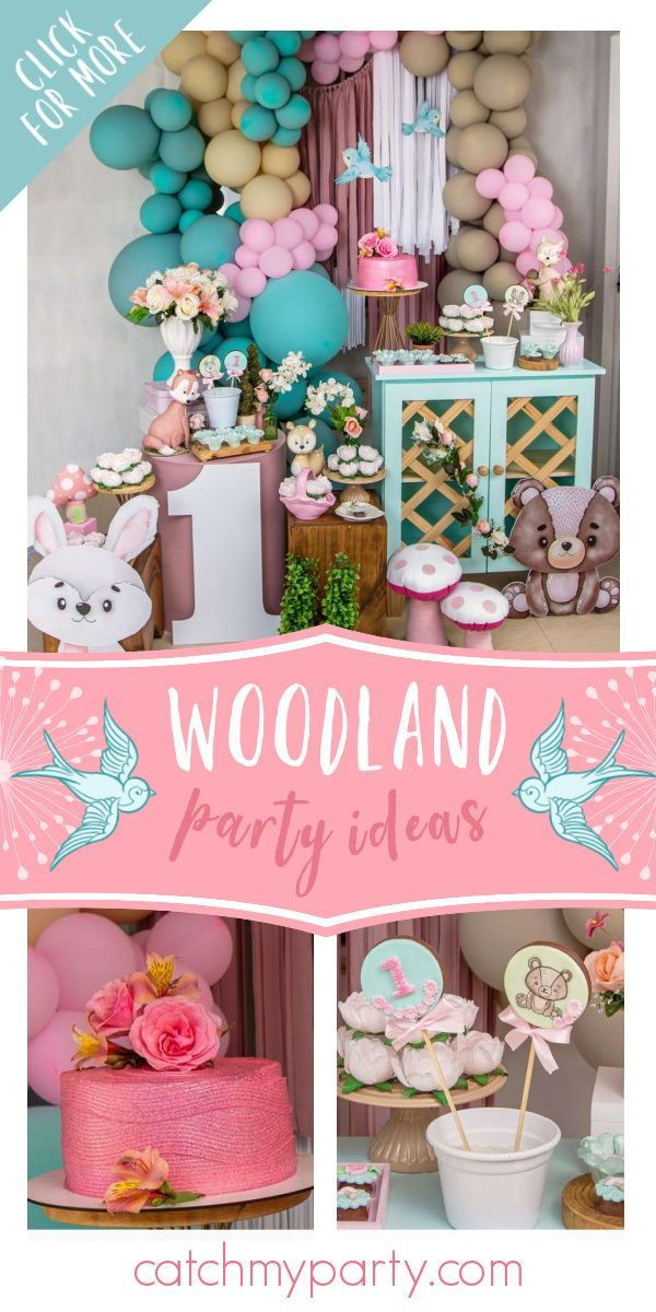Pin On Boy And Girl First Birthday Party Ideas