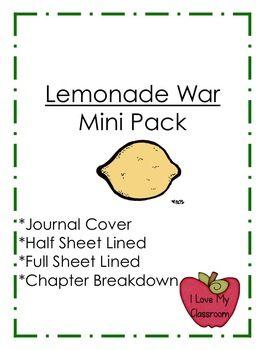 the lemonade war writing activities