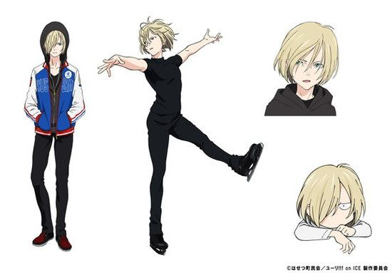 Yuri!!! on Ice Anime's English-Subtitled Trailer Streamed - News - Anime News Network