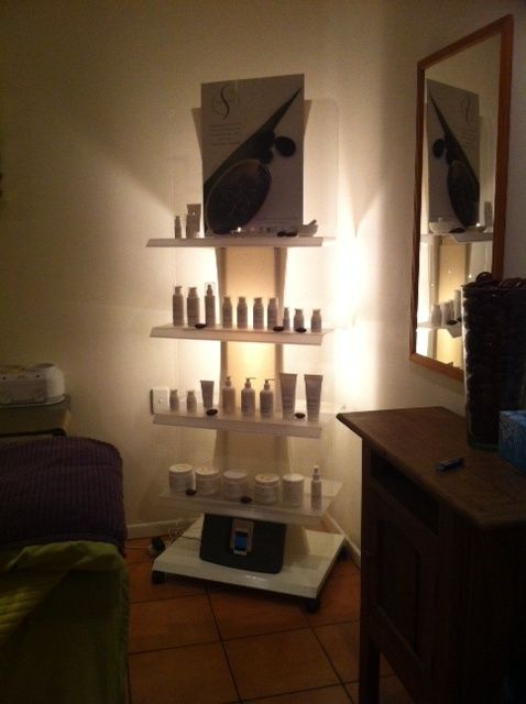 This is our gorgeous new skin care range in our beauty room....pamper anyone?