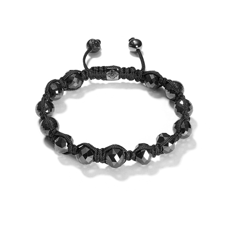 Raw Black Diamond Bracelet