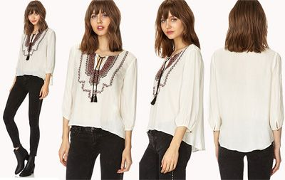 Forever 21 new trends women's clothing autumn winter 2013 2014 ...