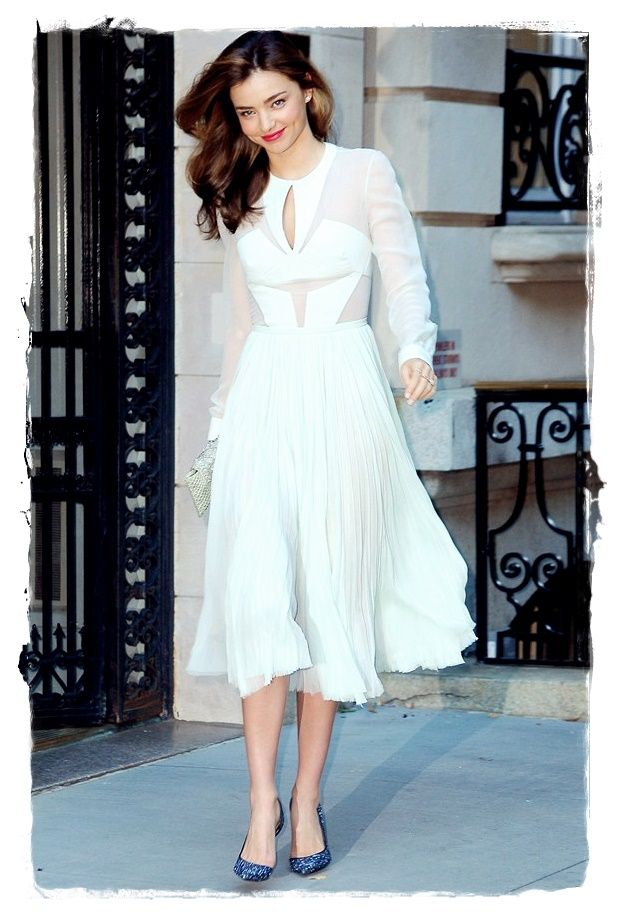 #Miranda #Kerr Summer City Chic Fashion Look 01