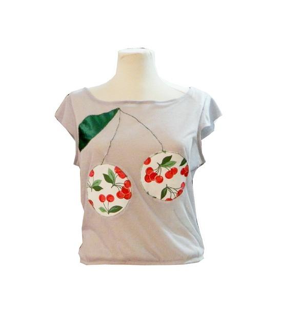 Bluza Cherry Cherry de handmademylove Breslo