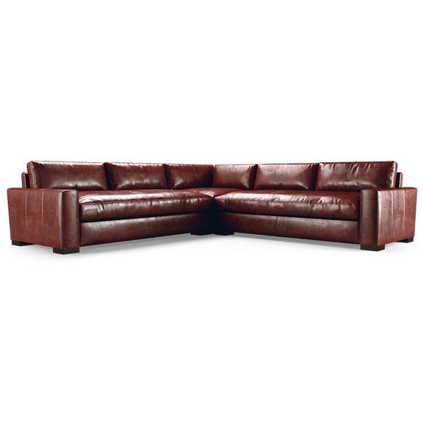 Anton Mid Century Modern Purple Leather Corner Sectional (3 piece) ($8,024) ❤ liked on Polyvore featuring home, furniture, sofas, purple, purple leather furniture, purple leather couch, leather sectional, leather corner sofa and purple leather sectional