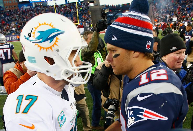 New England Patriots vs Miami Dolphins: NFL Thursday Night Football -   The New England Patriots and Miami Dolphins will play on Thursday Night Football with Tom Brady and Ryan Tannehill squaring off. NFL game stream, preview, schedule and predictions provided for Thursday Night Football Week 8. (Photo : Jared Wickerham/Getty)