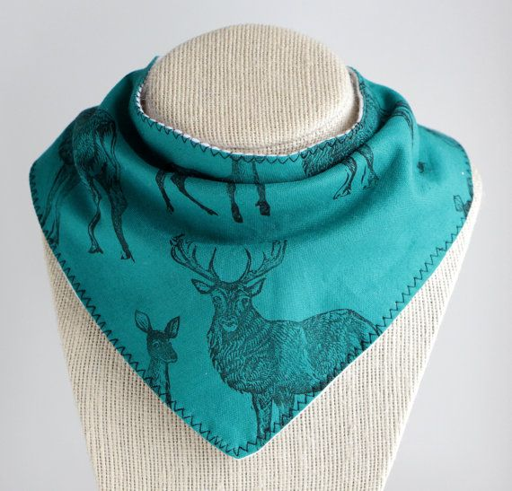 Hey, I found this really awesome Etsy listing at https://www.etsy.com/listing/275231512/stag-fawn-deer-babytoddler-bandana-drool