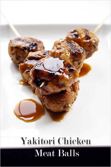 Yakitori Recipe - Grilled Chicken Meat Balls #appetizer