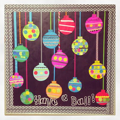 Ornament Bulletin Board