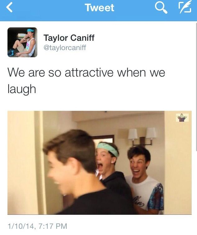 HECK YEAH YOU ARE @Sam Taylor Caniff<3 and @Cameron Daigle Dallas and @Cheryl Nash Grier<3 :)