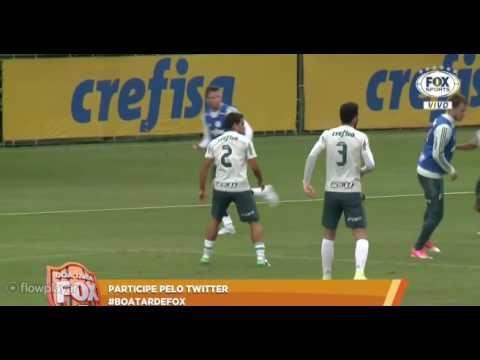 As formações de Palmeiras e Fluminense 10 06 2017