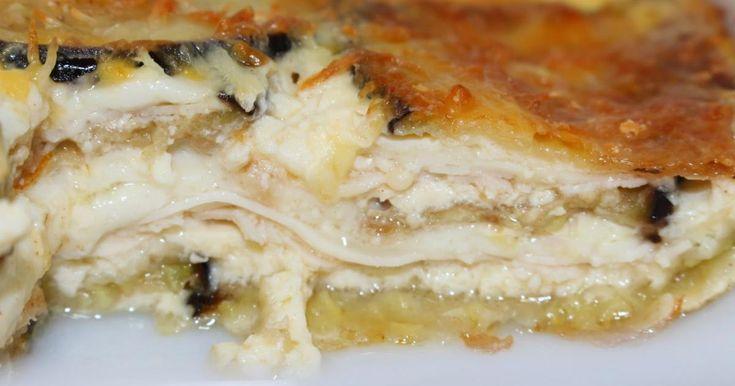 Mousaka de jamón y queso - Eureka Recetas