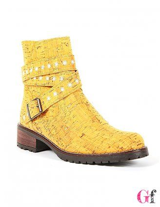 Botas Estrela do Mar Amarelas #Rutz #Goodfashion
