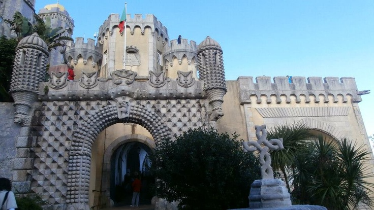 Palaceo de Sintra, fairytale palace and village 3/4 of an hour out of Lisbon