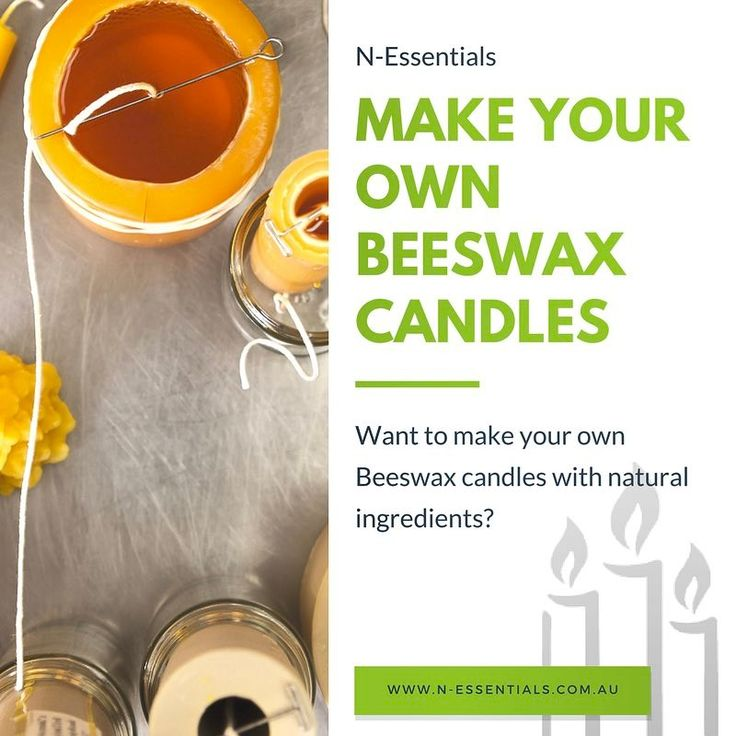 Want to make your own Beeswax candles with natural ingredients? Beeswax candles can create the perfect ambience to your room with their splash of warmth, soothing fragrance and light. They offer the ideal way to enhance the overall appearance of your room. You can easily make the candles at home!