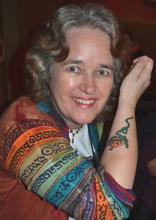 "Lisa Morton, author of ""St. Thomas of El Paso."" Photo by Ellen Datlow."