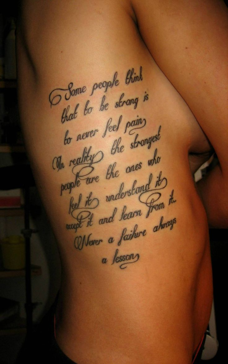 Sexy tattoo on the side of the ribs and beautiful letters. https://www.facebook.com/tattoostofan.rh