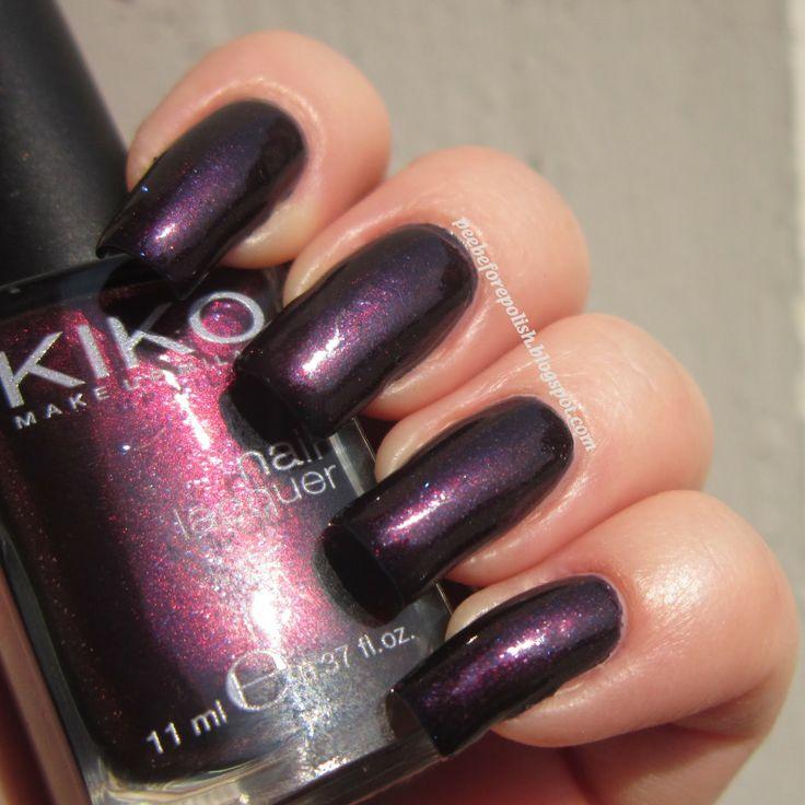 Kiko #497 - Viola Indiano Perlato [Chanel Taboo dupe?!]