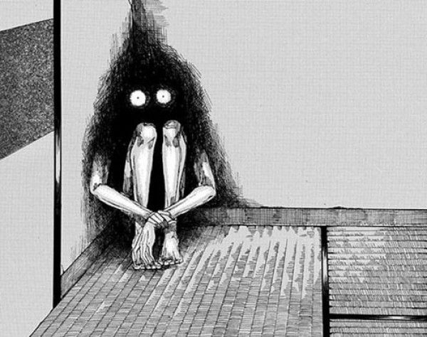 Drawings Sadness And Dark: 78+ Images About Art: Horror Manga On Pinterest