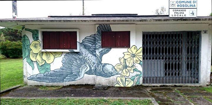 Lucamaleonte - Italian Street Artist - Rosolina Mare (IT) - 06/2015 - |\*/| #lucamaleonte #streetart #italy