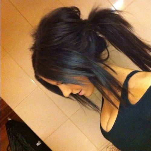 teased ponytail! Someone teach me this!