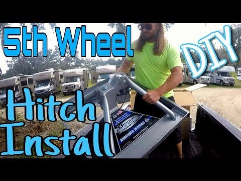 5th Wheel Hitch Install - DIY | Andersen Ultimate Fifth Wheel Connection | RV Full Time - YouTube