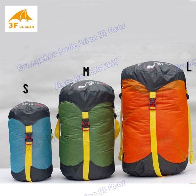 Compression Stuff Sack Camping Hiking Sleeping Bag Pack Storage Carry Bag