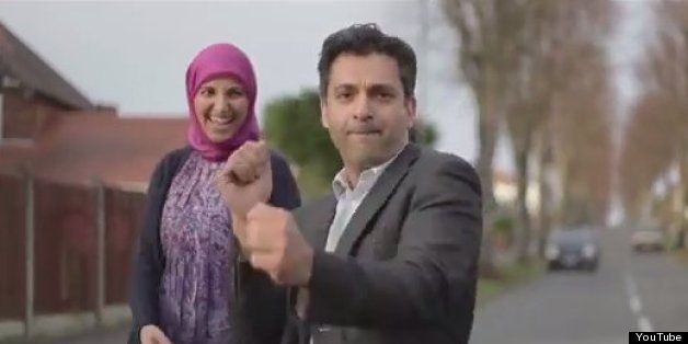 British Muslims dancing to Pharrell Williams' HAPPY'