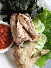 Resep Masakan Ayam Pop ala Resto Padang Kurnia