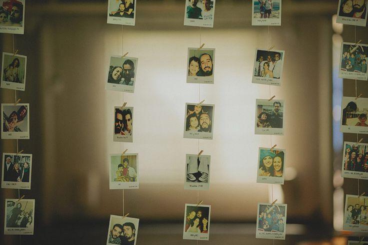 Fotos polaroid como souvenir de casamiento