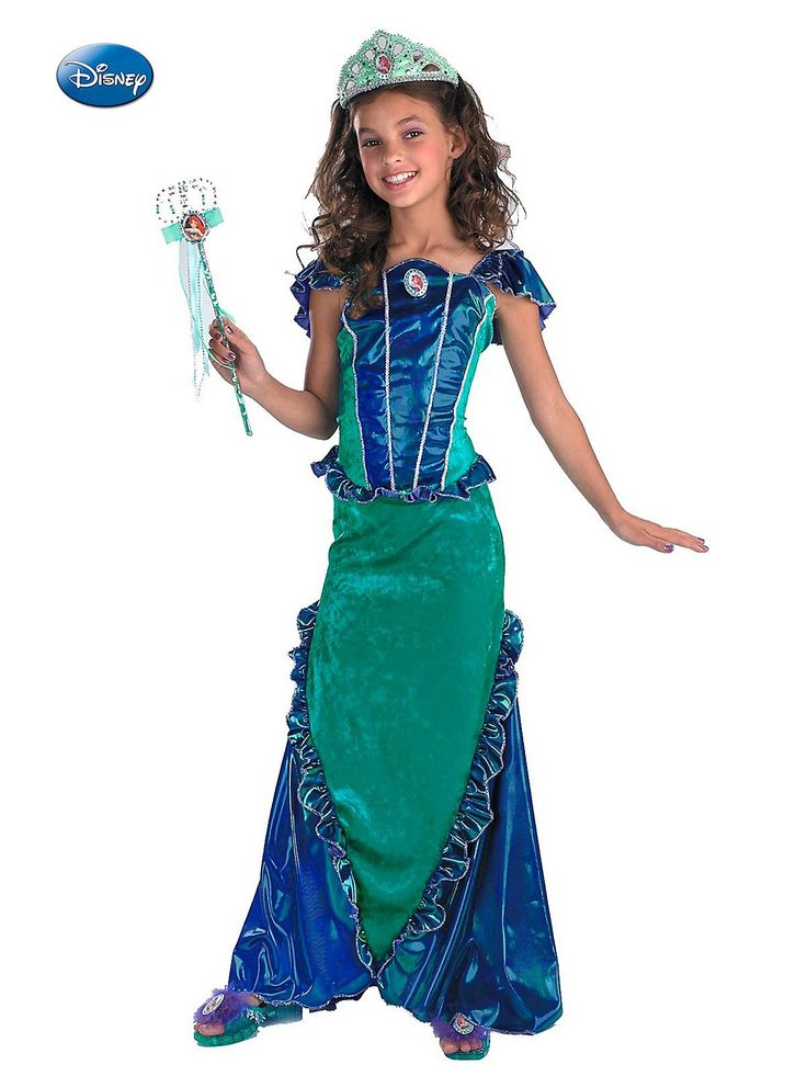 Deluxe Ariel - Little Mermaid Costume  sc 1 st  Pinterest & 42 best Disney Princess Costume Ideas images on Pinterest | Disney ...