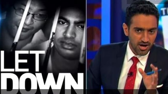 Waleed Aly on The Project. Picture: Channel 10