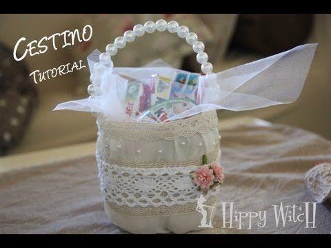 Tutorial: Barattolo in Legno Shabby Chic  Riciclo Creativo con Mollette e Barattoli  DIY Jar Wooden - YouTube