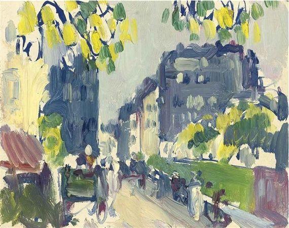 John Duncan Fergusson, Paris