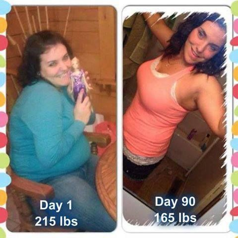 Alisha H. lost 50 lbs and 10 1/2 inches in her waist alone! No special diet, little exercise... just Skinny Fiber and lots of water! #weightloss