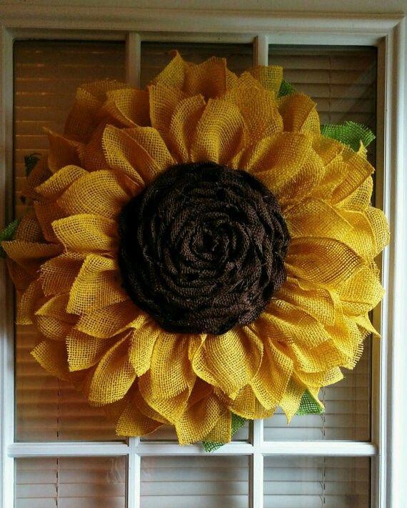 Charmant Credit To: Grillo Designs.com Sunflower Wreath Tutorial | Art | Pinterest | Sunflower  Wreaths, Wreath Tutorial And Sunflowers