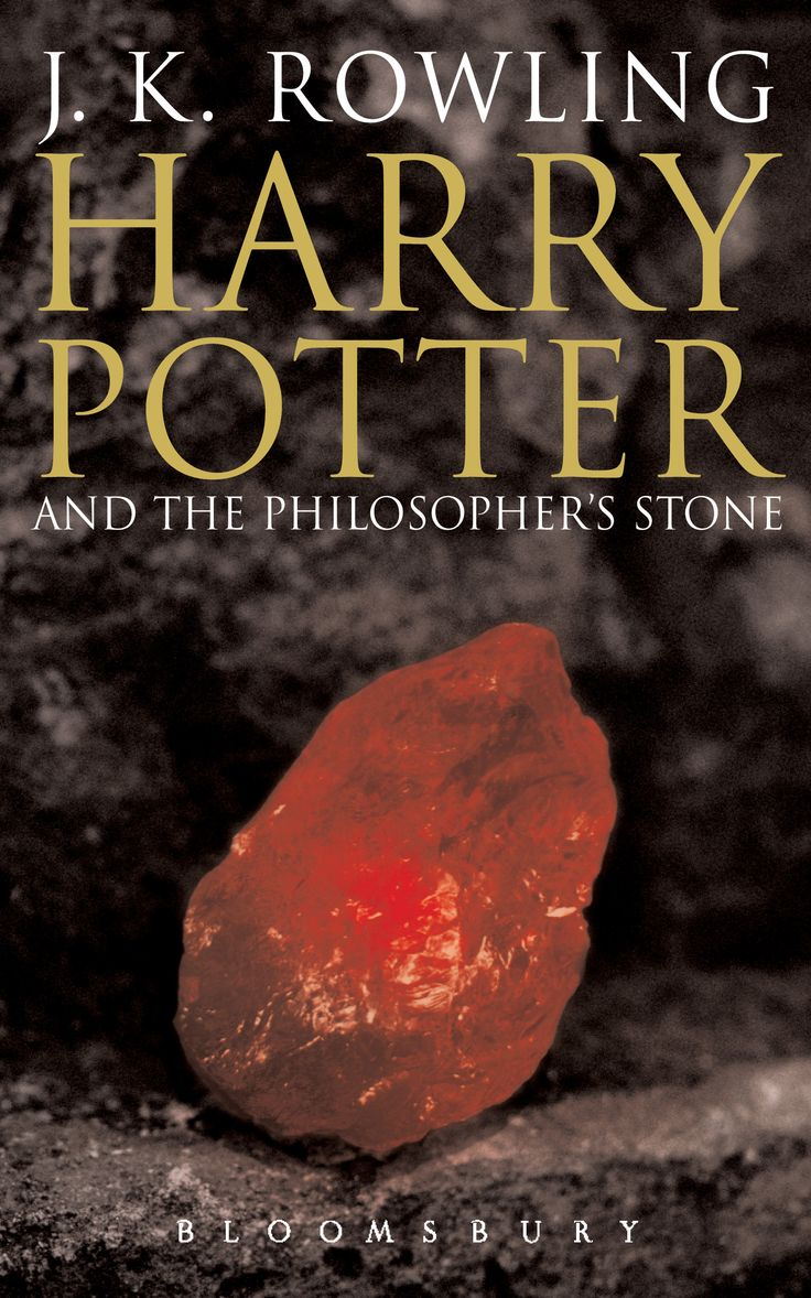 Book 1: Harry Potter And The Philosopher's Stone: Cover Art Http: