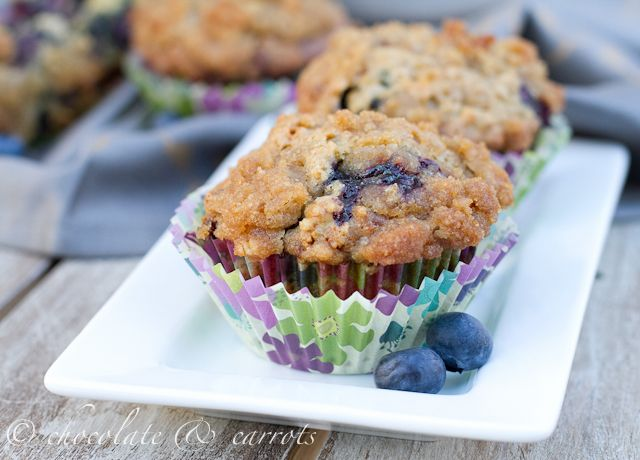 whole wheat blueberry muffins: the recipe doesn't call for any butter ...
