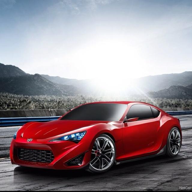 Future Scion Coupe. So sexy.