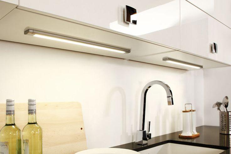 LED Langfeldleuchte LD 8003 Aluminium | LED-Küchenbeleuchtung | Beleuchtung | Nordsee Küchen