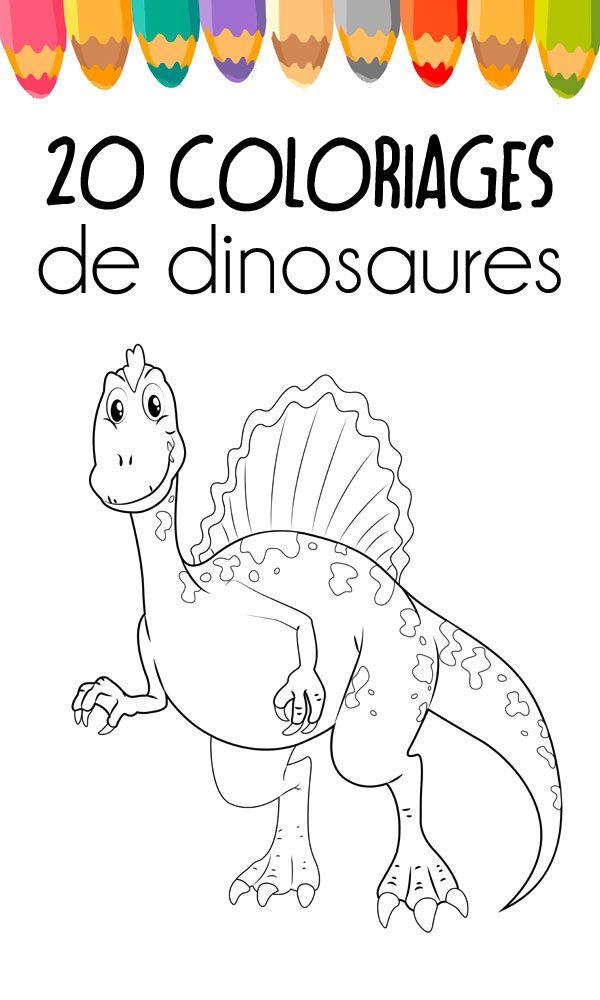 Des Coloriages Gratuits A Imprimer Coloriage Dinosaure Coloriage Dinosaure A Imprimer Coloriage