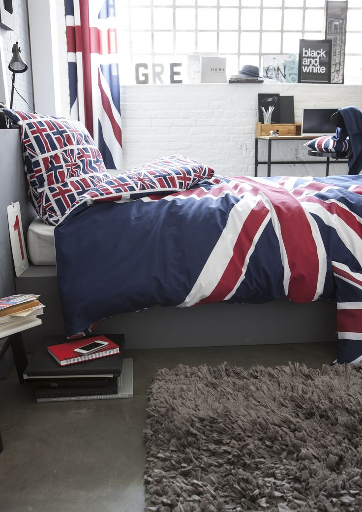laissez vous s duire par la tendance union jack tr s en. Black Bedroom Furniture Sets. Home Design Ideas