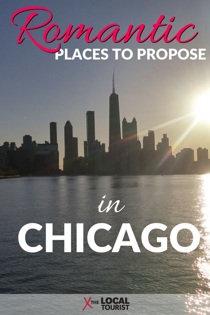 """Have you found """"the one"""" and want to make it official? Here are the most romantic places to propose in Chicago. #USA"""
