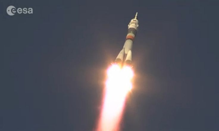 British astronaut Tim Peake blasted off today right on schedule at 11:03 GMT, heading for the International Space Station.