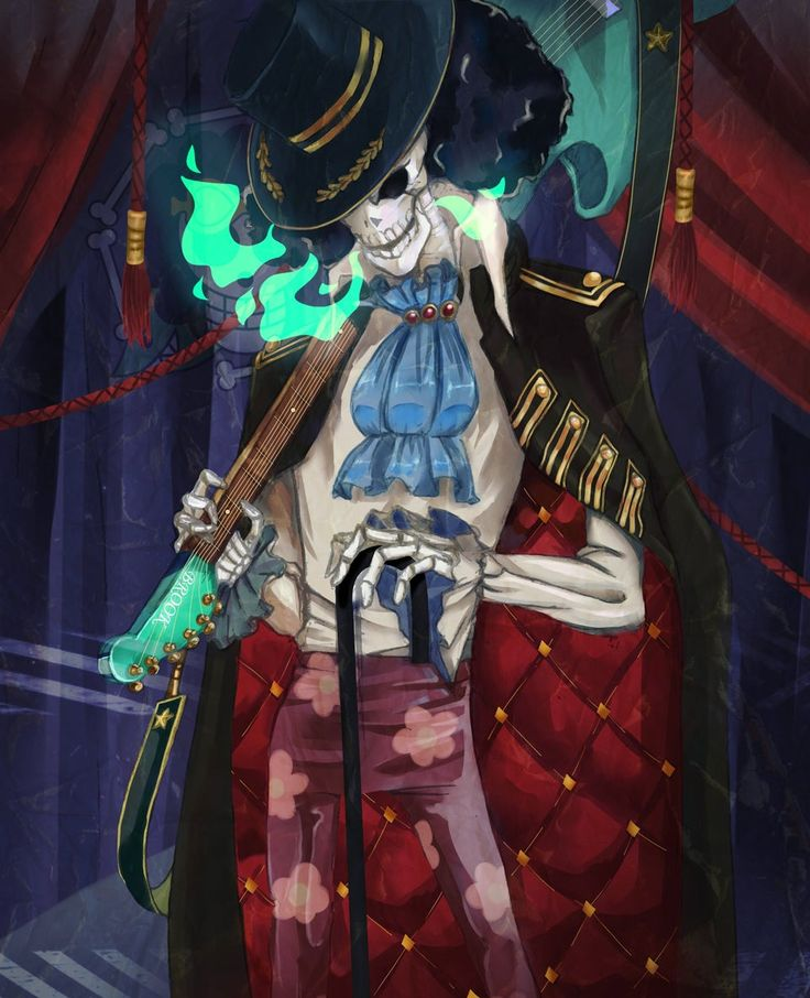 Reddit - OnePiece - BROOK (one piece). Source in the ...