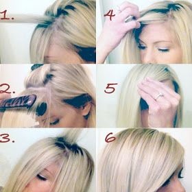 hair by Megan Mikita: HOW TO: The Perfect Side Swept Bang      http://www.meganmikitablog.com/2013/03/how-to-perfect-side-swept-bang.html?m=1