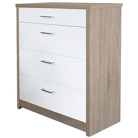 Solano Lisbon 4 Drawer Bedroom Cabinet