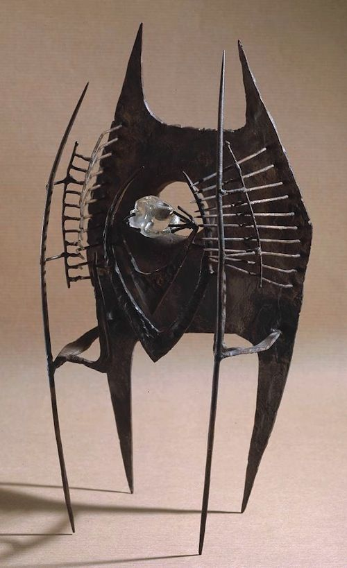 Inner Eye (Maquette III) (1952) iron and glass by Lynn Chadwick (British, 1914-2003) lithograph