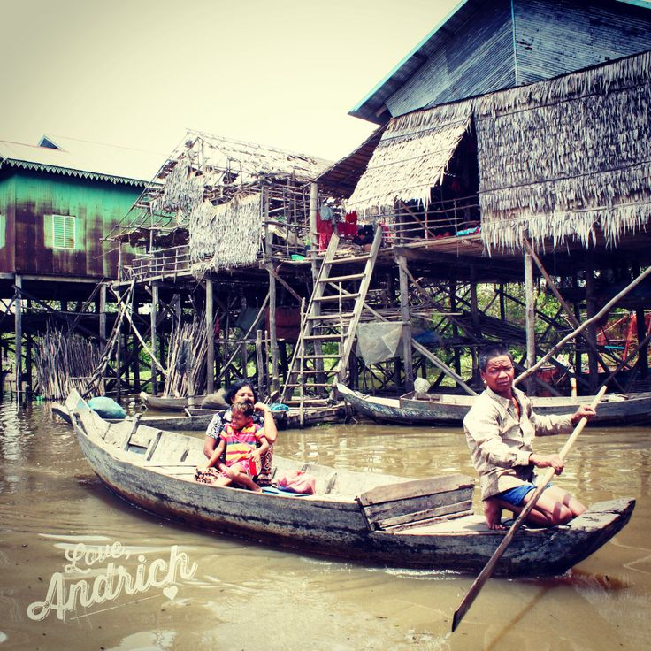 """Kompong Phhluk, also known by Westerners as the """"Sunken Forest"""" ~ #Travel"""