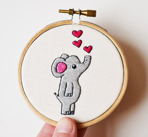 World Elephant Day! by @branchbeads  by Sarah Robertshaw on Etsy